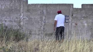 Vlady Art, Graffiti remover, 2013, Parco dell'Etna, Catania.