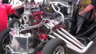 "Motley Crue ""Kickstart My Heart"" featuring Jeff Steere's Supercharged A/Gas 33' Willys!"