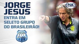 JORGE JESUS ENTRA EM SELETO GRUPO DO BRASILEIRÃO!