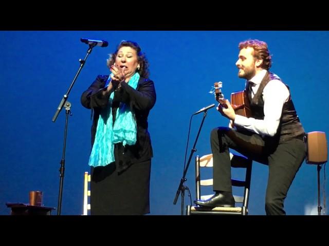 Vídeo de María Vargas y Miguel Poveda en directo