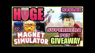 🔴 HUGE EPIC PET GIVEAWAY! (Magnet Simulator) ~ Live Stream 🔴