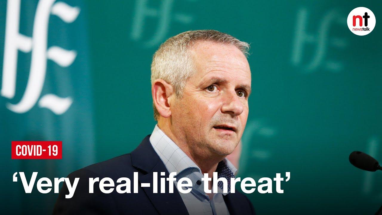 Ireland still Faces 'Very, Very Real' Threat from COVID-19 Variants – Paul Reid