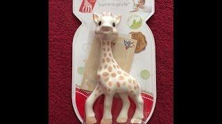 Girafa Sophie - UNBOXING