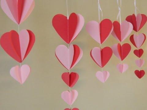 Come realizzare delle decorazioni per san valentino fai da te mania - Decorazioni per feste fai da te ...