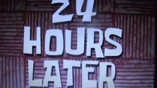 Spongebob 24 hours later