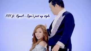PSY (ft. HYUNA) 오빤 딱 내 스타일 (low pitch)