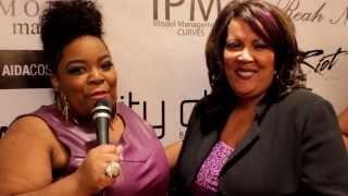 Angela Rene' - Red Carpet Interview - POSH LA Fashion Week