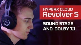 HyperX Cloud Revolver S 的音場和杜比環繞 7.1 功能