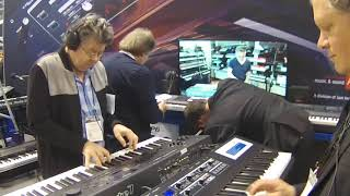 NAMM 2018 - Kurzweil SP-1 Digital Piano