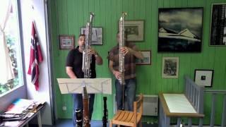 Octocontralto & Contrabass Clarinet Duet - Humorous scherzo - Sergei Profofiev