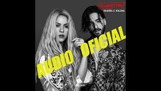 Shakira Ft. Maluma - Clandestino (Audio Oficial)
