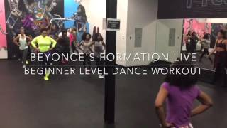 "Beyoncé's ""Formation Live"" Beginner Level Dance Cardio Workout by Jai Summers"