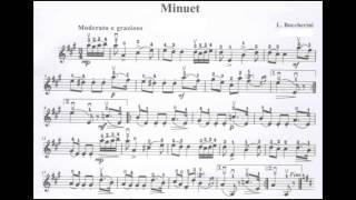 [Piano Accompany] Minuet - Boccherini (100% Tempo)