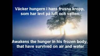 Nordman - Vandraren (with Swedish lyrics and English subtitles)