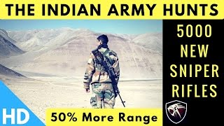 Indian Army Hunts For New Sniper Rifle To Replace Dragunov