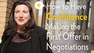 Negotiation 4/4: First Offer