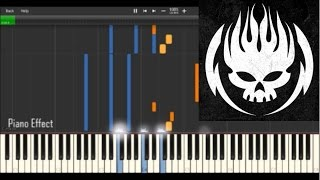 The Offspring - Gone Away (Piano Tutorial Synthesia)