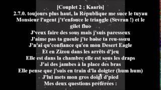 booba kalash ft kaaris avec paroles