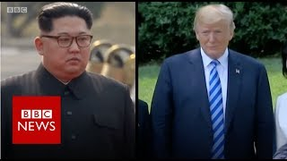 US-North Korea: Preparations in Singapore for summit - BBC News