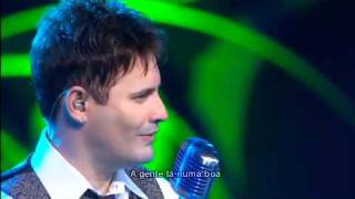 Luiz Cláudio Part ( Eduardo Costa ) - Para, Não Fala  ( DVD 2011 )