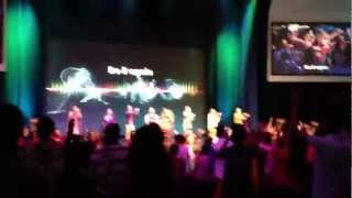 Do it again Jesus! Hope Singapore's first service on 17/03/2013 at The Axis.