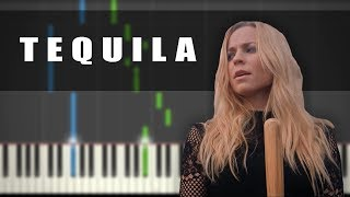 Vesala - Tequila | PIANO TUTORIAL