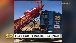 California man launching homemade rocket to prove Earth is flat