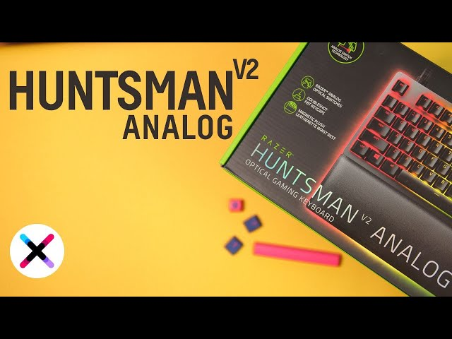 KLAWIATURA JAK PAD? 😮 | Test, recenzja Razer Huntsman V2 Analog