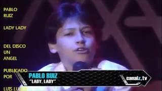 PABLO RUIZ LADY LADY EN TELEMANIAS