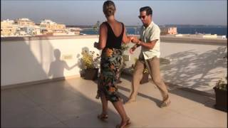 50s Jiving / Rockabilly Jive Dance / RocknRoll Dance / Rooftop