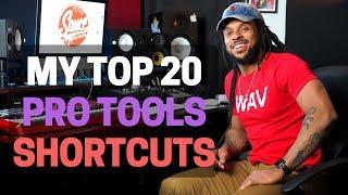 Top 20 Pro Tools Shortcuts 2018