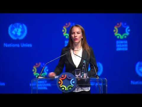 SENADORA CUEVAS PARTICIPA EN CUMBRE MUNDIAL HUMANITARIA