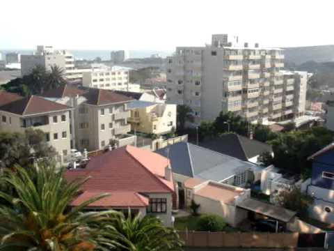 CAPE TOWN – A view from our balcony window. What a beautifully city.