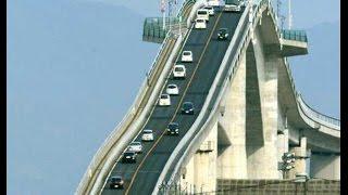 World Most Dangerous Bridge In Japan   Awesome Bridge Japan