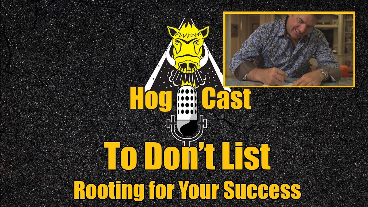 Hog Cast - To Don't List