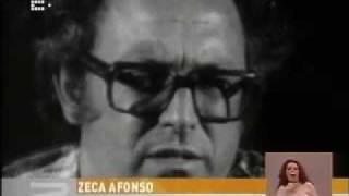 José Afonso no Jornal da Noite da RTP2