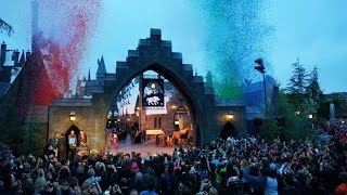 Wizarding World of Harry Potter Opening Moment at Universal Studios Hollywood