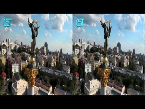 Official 3D promo EURO 2012 of Kyiv for UEFA