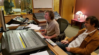 Fingerfusion Project- the beginnings at Simon Phillips Studio