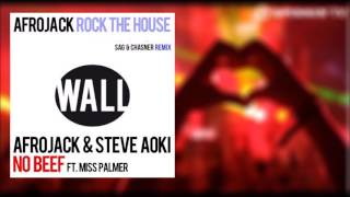 ROCK THE HOUSE (SAG & CHASNER REMIX) VS NO BEEF (ACAPPELLA) (AFROJACK TFDR16 MASHUP)