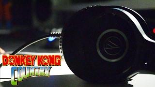 Donkey Kong Country: Aquatic Ambience Lo-Fi Cover