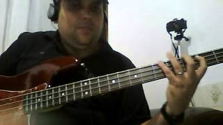 Rock das Aranhas Baixo Cover By Dan Bass