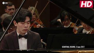 #Cliburn2017 Semifinal Concerto - Daniel Hsu - Mozart: Piano Concerto No. 21 in C Major
