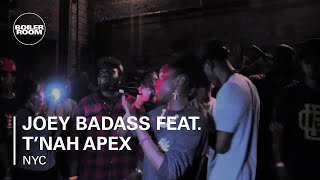 Joey Badass feat. T'nah Apex - 'Snakes' - live in the Boiler Room New York x RBMA