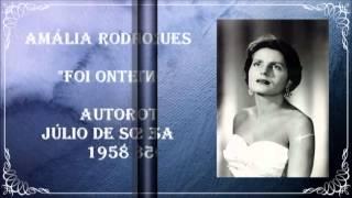 Amália Rodrigues - Foi ontem