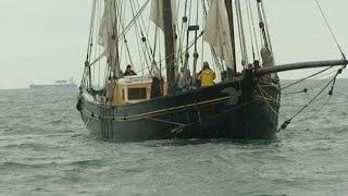 Le Corentin : voilier pour le transport maritime