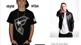 Mr. Vegas Rap - Listen To Your Heart [Remix] (feat. Eminem)