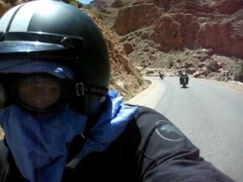 marruecos en moto bmw k75