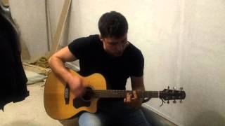 Red Hot Chili Peppers - Can't stop (acoustic guitar cover)