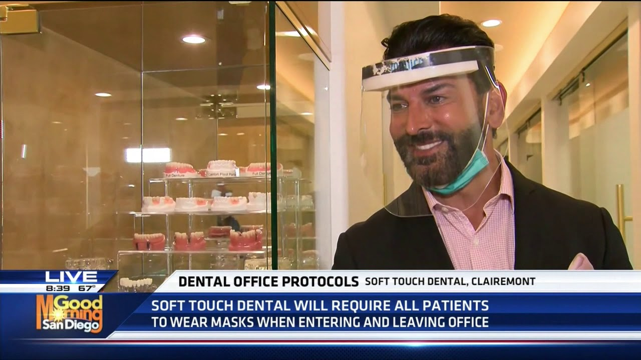 Dental Office Protocol - Soft Touch Dental - KUSI TV Part 2